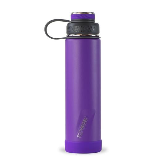 The Boulder - Purple Haze TriMax Insulated Water Bottle with Strainer 24oz