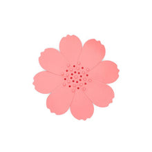 Load image into Gallery viewer, Finchberry Silicone Flower Soap Dish Pink