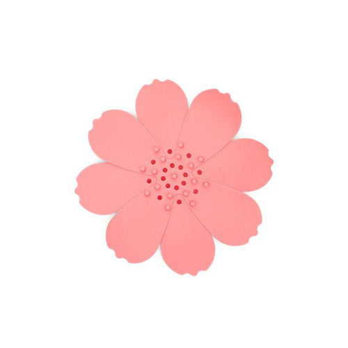 Finchberry Silicone Flower Soap Dish Pink