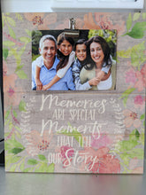 Load image into Gallery viewer, Memories are Special Moments That Tell Our Story -  Clip It Frame