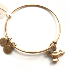 Load image into Gallery viewer, Alex and Ani Lamp of Light Charm Bangle