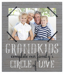 Grandkids Complete Our Family's Circle of Love Photo Frame