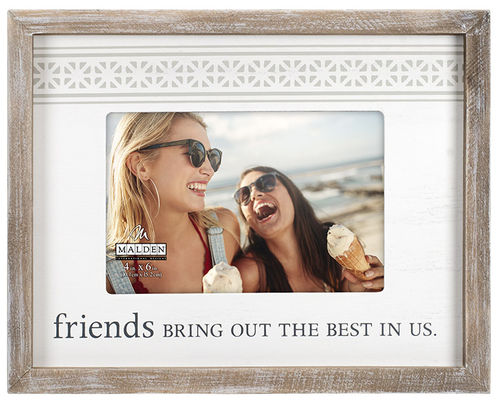 Friends Bring Out the Best in Us Photo Frame