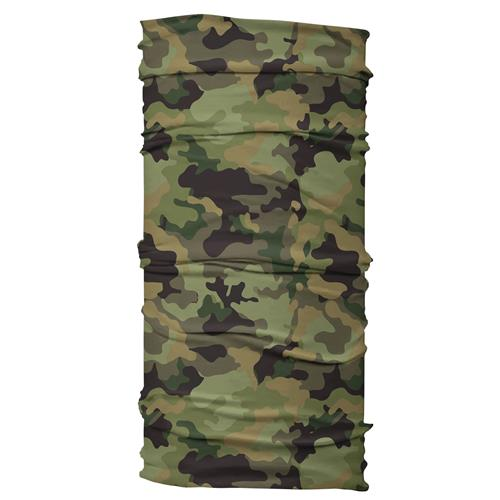 Wide Headband - Green Camo