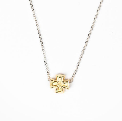 My Saint My Hero Faith Petite Necklace Gold
