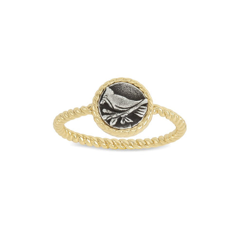 Luca + Danni Cardinal Ring - 18kt Gold Plated