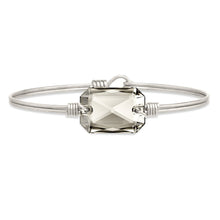 Load image into Gallery viewer, Luca+ Danni Dylan Bangle Bracelet in Silver Shade - Petite/Silver Tone