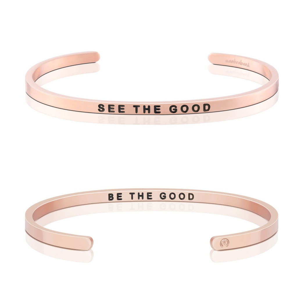 See The Good, Be The Good - Rose Gold