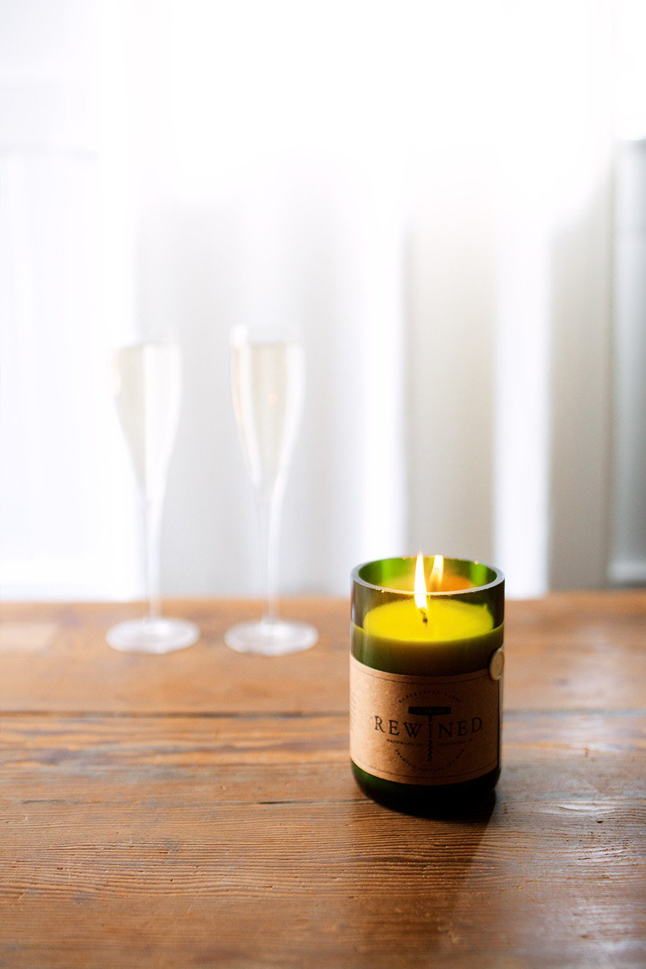 Rewined - Champagne Signature Glass Candle