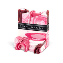 Load image into Gallery viewer, Finchberry Rosey Posey - Handcrafted Vegan Soap
