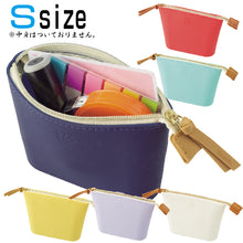 Load image into Gallery viewer, Lihit Lab Bloomin Soft Silicone Zippered Pouch Small - Lily White