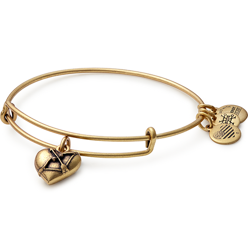 Alex and Ani Cupid's Heart Charm Bangle