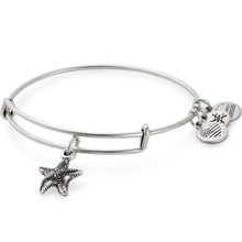 Load image into Gallery viewer, Alex and Ani Starfish Charm Bangle