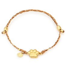 Load image into Gallery viewer, Paw Print Precious Threads Bracelet