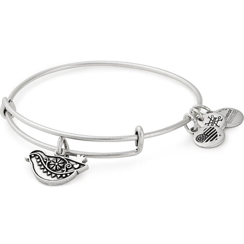Alex and Ani Dove Charm Bangle