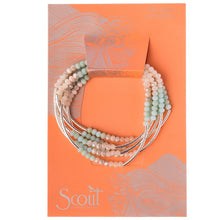 Load image into Gallery viewer, Scout Wrap : turquoise combo/silver