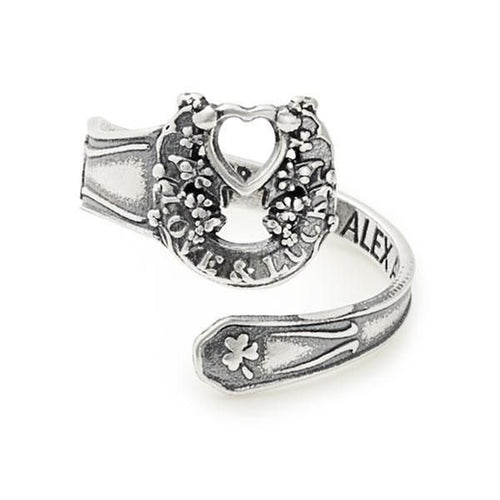 Fortune's Favor Spoon Ring - Sterling Silver