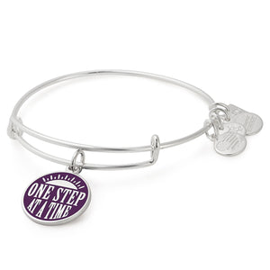 Alex and Ani One Step Charm Bangle