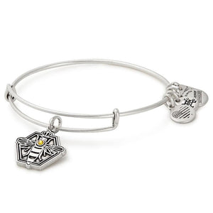 Alex and Ani Queen Bee Charm Bangle