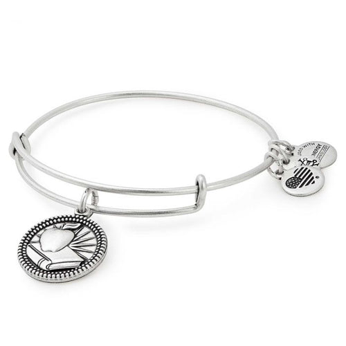 Teacher  Balance Charm Bangle Bracelet
