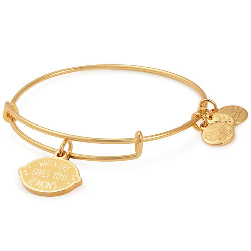 Alex and Ani When Life Gives You Lemons Charm Bangle