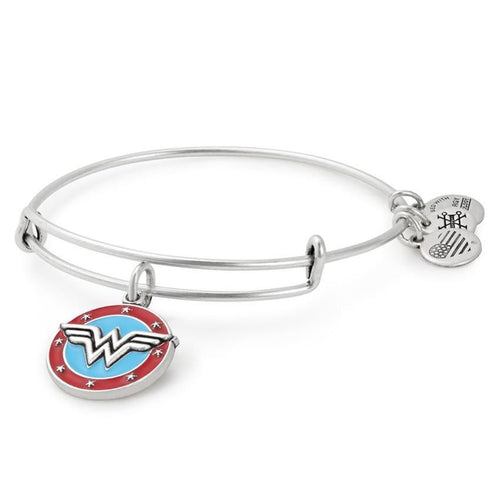 Alex and Ani Wonder Woman Logo Charm Bangle