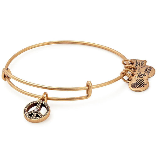 Alex and Ani World Peace Charm Bangle