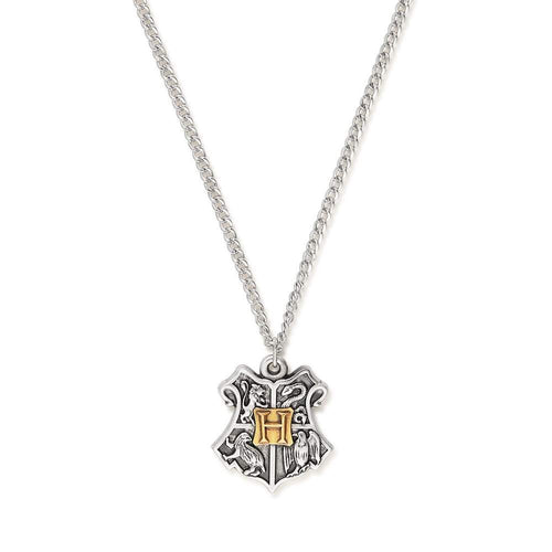 Alex and Ani Harry Potter Hogwarts Crest Two Tone Necklace