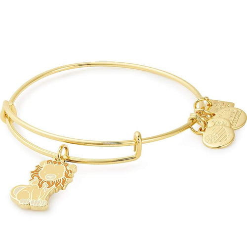 Alex and Ani Lion Charm Bangle