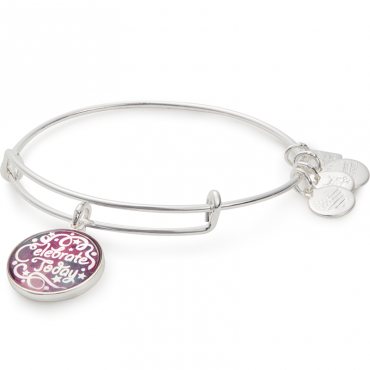 American Cancer Society Celebrate Today Bangle Bracelet