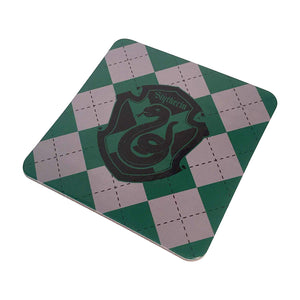 Wizarding World of Harry Potter Slytherin Crest Mug Coaster Set