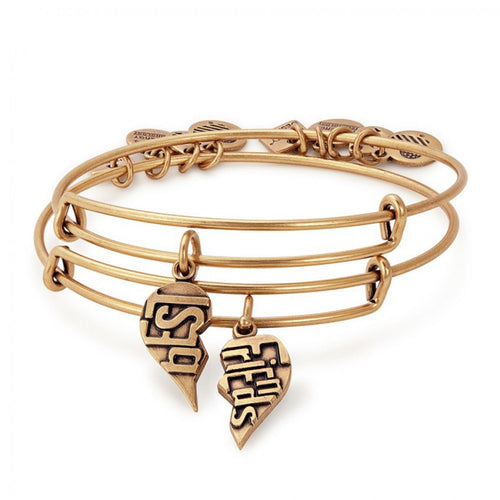 Best Friends Set of 2 Bangle Bracelets