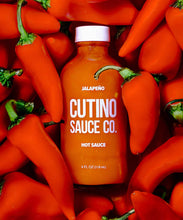 Load image into Gallery viewer, Jalapeno Cutino Hot Sauce