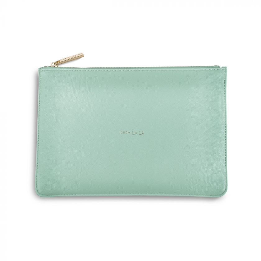 Katie Loxton Perfect Pouch - Ooh La La Mint Green
