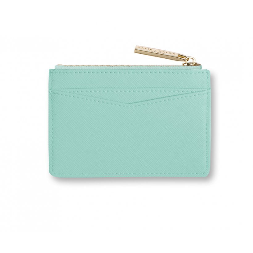 Card Holder - Sparkle and Shine Mint
