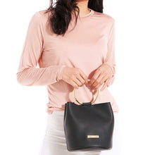 Load image into Gallery viewer, Katie Loxton Suki Mini Bucket Bag - Black