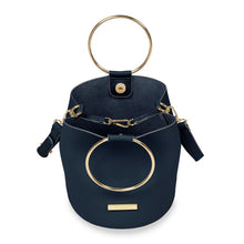 Load image into Gallery viewer, Katie Loxton Suki Mini Bucket Bag - Navy