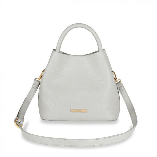 Katie Loxton Sienna Slouch Crossbody Bag - Warm Gray