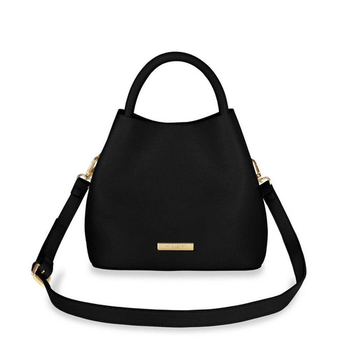 Katie Loxton Sienna Slouch Crossbody Bag - Black