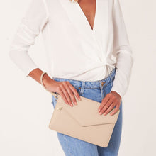 Load image into Gallery viewer, Esme Envelope Clutch Bag | Be Your Own Kind of Beautiful - Nude Pink