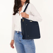 Load image into Gallery viewer, Katie Loxton Pacey Pocket Shoulder Bag - Navy