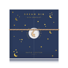 Load image into Gallery viewer, Katie Loxton Wish - Moon - Yellow Gold Moon Charm Bracelet