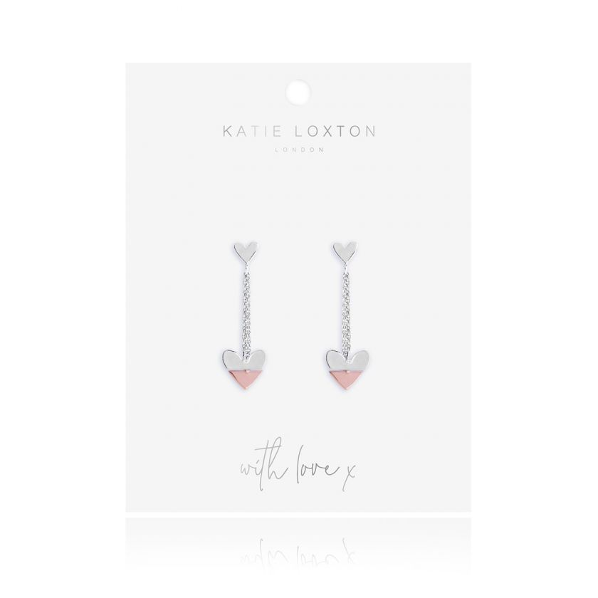 Perfect Pair Heart Drop Earrings