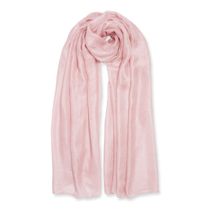 Wrapped Up in Love Boxed Silky Scarf - Blush Pink