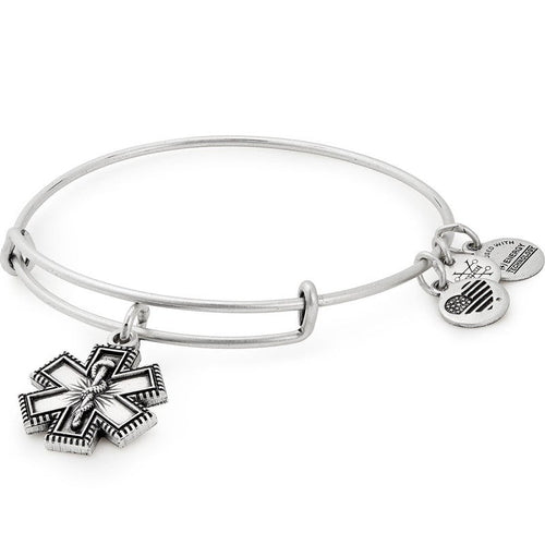 Medical Professional Balance Charm Bangle Bracelet