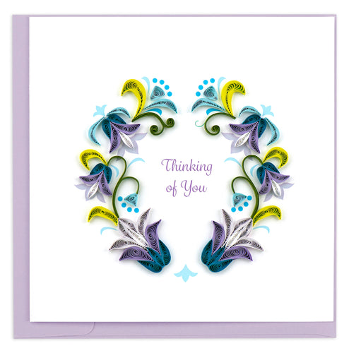 Quilled Thinking of You Card