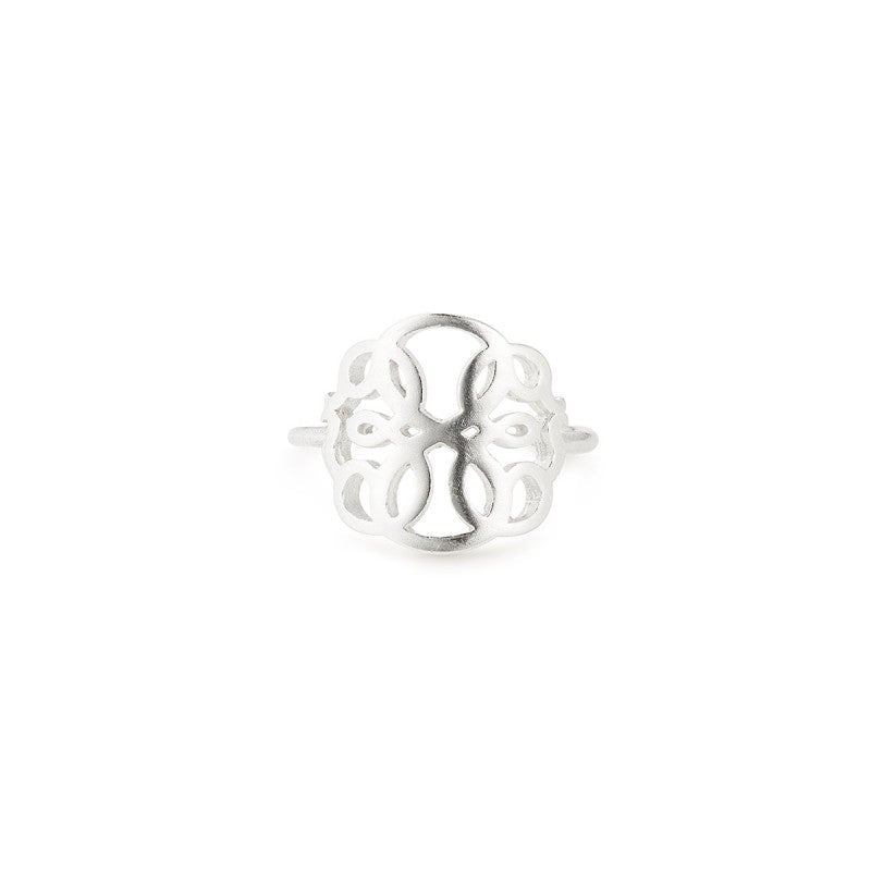 Path of Life Adjustable Ring - Sterling Silver