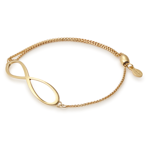 Alex and Ani Infinity Pull Chain Bracelet