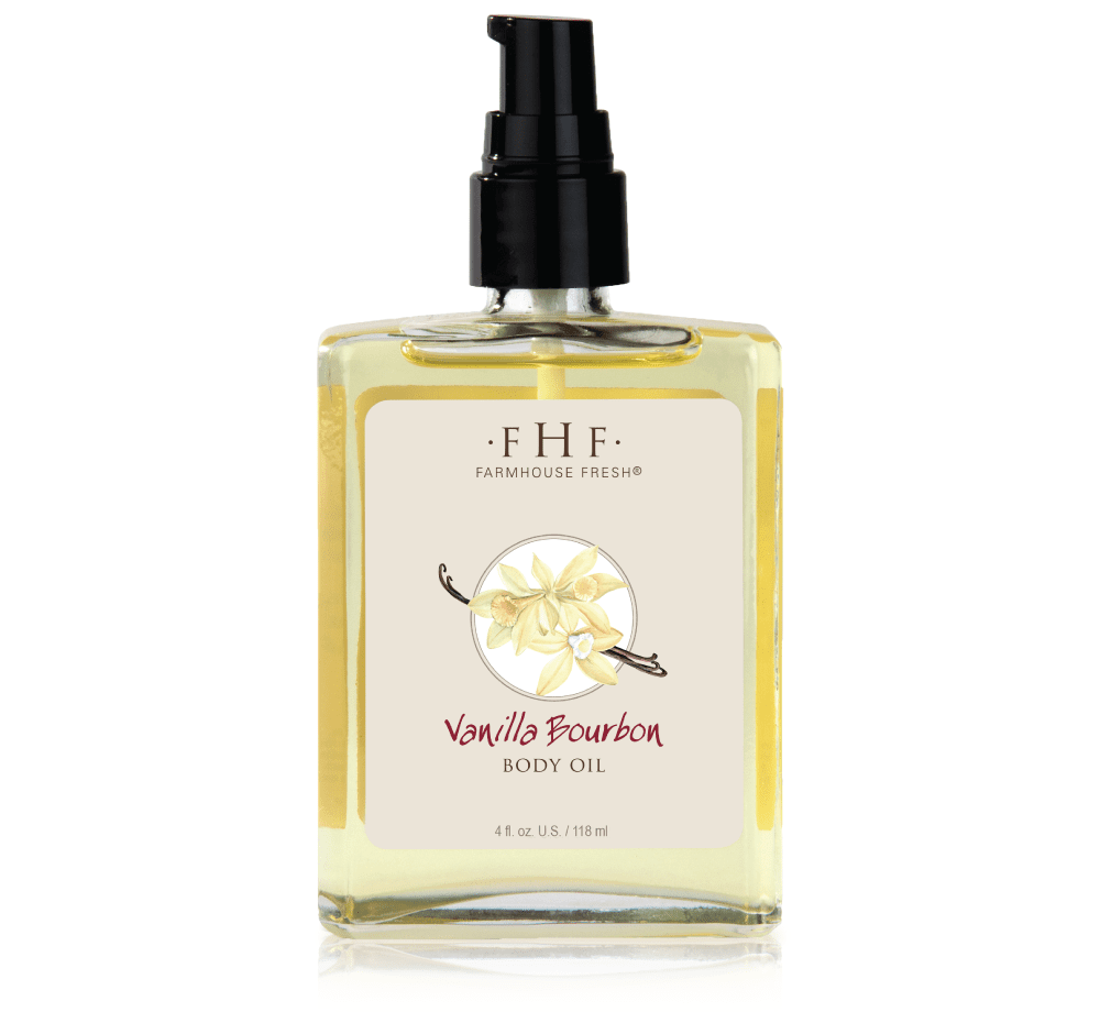 Vanilla Bourbon Body Oil