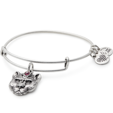 Load image into Gallery viewer, Alex and Ani Wild Heart Charm Bangle